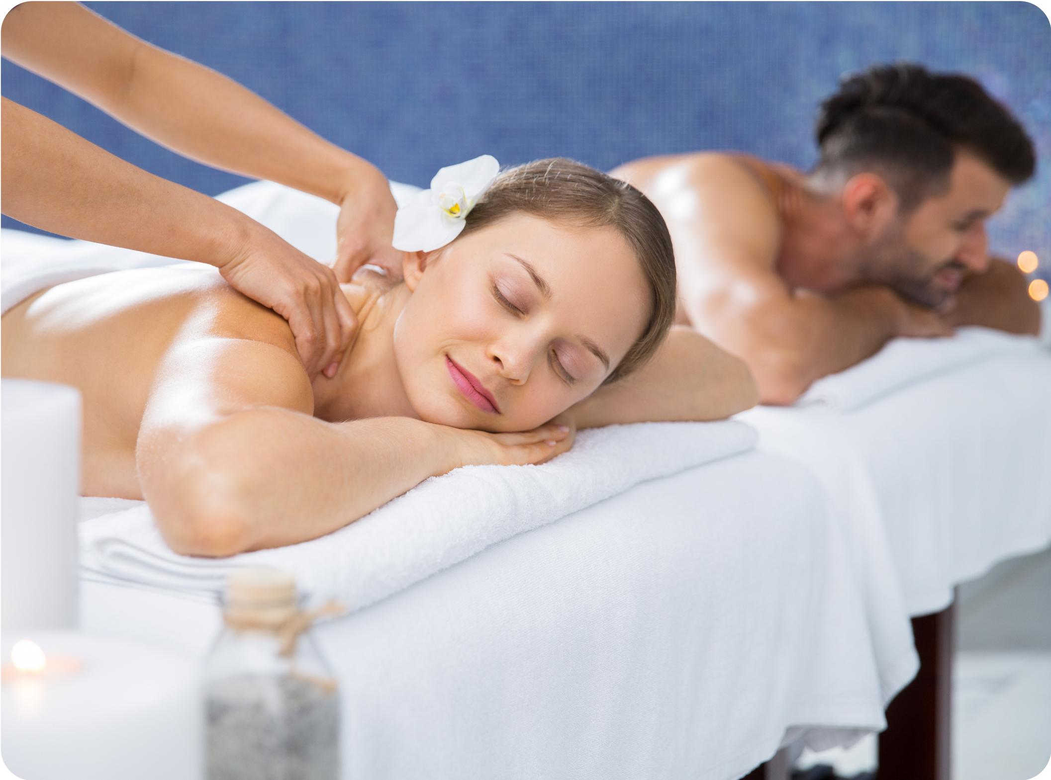 массаж в фитнес клубе